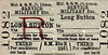 M&GN TICKET - Third Class Military Service Return from Long Sutton.