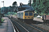 BRUNDALL - Seen here in 1975, over 40 years before my recent picture and not much changed. Here we see Norwich-based Class 105 set NC37 departing on a Yarmouth train.