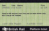 BR PLATFORM TICKET - ALTON - 10 pence, dated April 9th, 1988. I must have collected this one on the trip to the Mid-Hants - I certainly got about a bit in those days!