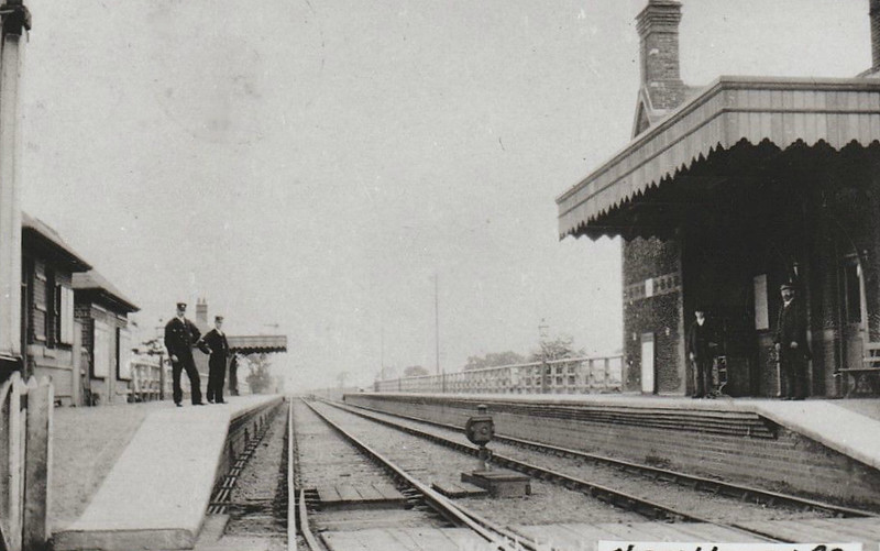NORTH WOOTTON - Opened on October 3rd, 1862, as Wootton, this was the first stop from Kings Lynn on the line to Hunstanton. The station, and the line, closed in May 1969 to much protest and, in the present day, much regret. The station buildings still stand as a private residence.