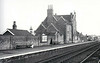 ANCASTER - On the Nottingham - Sleaford line, opened in 1857, the station is still open. I spent many happy hours here in the 1970's, revising for my Degree exams - it was quieter than a two-room flat with a wife and baby!