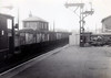 CASTLEFORD - a steam-hauled coal train weaves its way through the station in 1965.