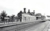 ELMSWELL - This small but rather ornate station on the Cambridge - Ipswich line of the Great Eastern Railway was opened in 1846 and remains open today, though modern facilities are much more basic than this. Goods traffic ceased as long ago as December 1964 but the station now handles about 80,000 passengers per year.
