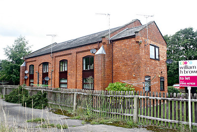SMEETH ROAD - The Goods Shed at Smeeth Road, much modernised and altered, has been converted into flats but is still recognisable for what it once was. Seen here on 25/07/17.
