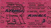 BRITISH RAILWAYS TICKET - STAMFORD EAST - Dog accompanying a passenger to Ryhall - fare 3d - dated February 13th, 1957.