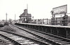 ALVERSTONE - Opened in February 1875 by  the Isle of Wight (Newport Junction) Railway, Alverstone lay between Sandown and Newchurch. As can be seen, facilities were fairly basic and the station closed in February 1956. Note the platform extension.