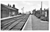 EASTVILLE AND NEW LEAKE - Now demolished, the station was sited on the Boston - Firsby Junction section of the Grimsby - Peterborough mainline. It opened in 1848 as East Ville and New Leake, it closed to passengers in 1961 and all traffic in 1964. Facilities were fairly basic. I suspect that this picture dates from the early 1950's, making the caption only a century out of date! The station was renamed Eastville in 1850!