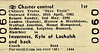 BR EDMONDSON TICKET - CHILTERN TRAINS - SKYE TRAIN - First Class 3-Day Tour from Euston and local stations to Bletchley to the Kyle of Lochalsh, departing on April 30th, 1982, and returning on May 2nd. I can find no evidence that this train actually ran.
