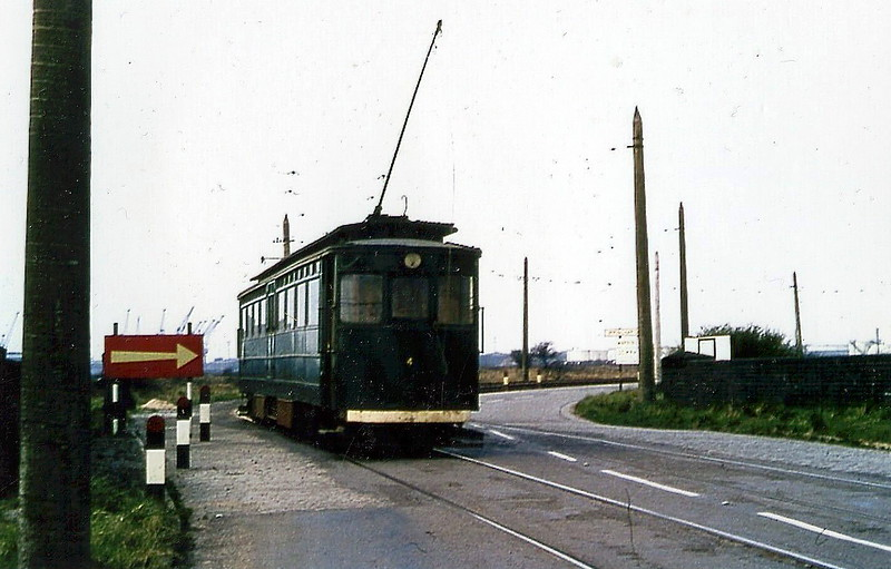 No.4 - 8 cars built by Brush Electric Co. in 1912 for the opening of the railway - 72 seats.
