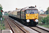 RAIL TOUR - 'SPALDING BELLE' - organised by Regency Rail Tours and run on May 2nd, 1998. 47798 PRINCE WILLIAM approaches Spalding on it's return from Bounds Green, whence it was obliged to go to refuel and refill supplies! The tour ran as follows:-<br /> <br /> 06.35 Blackpool - Spalding<br /> Spalding - Bounds Green ECS<br /> Bounds Green - Spalding ECS<br /> Spalding - Blackpool