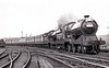 RAIL TOUR - 'PENNINE PULLMAN' - organised by Ian Allan Ltd. ans run on May 12th, 1956. 62664 PRINCESS MARY is seen here passing Broughton Lane piloting sister 62662 PRINCE OF WALES. Note that the third vehicle is not a Pullman car! The tour ran as follows:-<br /> <br /> 60014 - London Marylebone - High Wycombe - Princes Risborough - Woodford Halse - Leicester Central - Nottingham Central - Sheffield Victoria<br /> E27002 - Sheffield Victoria - Penistone - Dunford Bridge - Woodhead - Valehouse - Guide Bridge - Ashburys - Midland Jn<br /> 62664/62662 - Midland Jn - Miles Platting - Thorpes Bridge Jn - Rochdale - Todmorden - Sowerby Bridge - Nurbury - Barnsley - Rotherwood Sidings<br /> 60014 - Rotherwood Sidings - Retford - (via ECML) - London Kings Cross