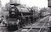 RAIL TOUR - 'FAREWELL TO STEAM (1)' - organised by the Stephenson Locomotive Society, the tour ran on August 4th, 1968 as 1Z78. 44871 is seen here piloting 44894 at Wigan Wallgate. The tour ran as follows:-<br /> <br /> E3093 - Birmingham New Street – Soho – ??? – Stafford – Stoke-on-Trent - Stockport<br /> D7588 - Stockport – Droylesden – Manchester Victoria<br /> 44871/44894 - Manchester Victoria – Diggle – Huddersfield – Sowerby Bridge – Copy Pit – Blackburn – (via Bolton avoiding line) – Wigan Wallgate – Kirkby – Bootle – Stanley – Rainhill – Barton Moss – Manchester Victoria – Droylesden – Stockport<br /> E3093 - Stockport – Crewe - Stafford – Soho – Birmingham New Street
