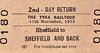 RAIL TOUR - 'THE TYKE RAILTOUR' - Branch Line Society - Run on November 17th, 1973, from 'Sheffield to Sheffield and Back' using many and diverse routes. Rolling stock was a 4-car DMU, headcode 1G15, and ran as follows:-<br /> <br /> Sheffield - Dore - Chesterfield - Tapton Jn - Beighton Jn - Masborough South Jn - Mexborough Jn - Wath Jn - Aldam Jn - Wombwell Main Jn - West Silkstone Jn - Penistone - (reverse of outward route) - Wombwell Main Jn - Aldam Jn - New Oaks Jn - Quarry Jn - Barnsley - Crigglestone Jn - Horbury Jn - Wakefield Kirkgate - Oakenshaw Jn - Oakenshaw South Jn - Cudworth - Wath Road Jn - Dearne Jn - Moorthorpe - South Kirkby Jn - Hare Park Jn - Crofton West Jn - Calder Bridge Jn - Turners Lane Jn - Altofts Jn - Castleford - Pontefract Monkhill - Knottingley - Pontefract Monkhill - Crofton West Jn - Wakefield Kirkgate - Wakefield Westgate - South Kirkby Jn - Adwick Jn - Skellow Jn - Applehurst Jn - Stainforth Jn - Bentley Jn - via Doncaster Avoiding Line - Hexthorpe Jn - Mexborough - Aldwarke Jn - Tinsley East Jn - Tinsley West Jn - Meadow Hall - Wincobank Station Jn - Sheffield.<br /> <br /> The tour boasted 9 reversals.