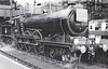 RAIL TOUR - 'SUFFOLK VENTURER' - organised by the Rail Enthusiasts Club and run on September 30th, 1956. 61576 is seen here at Liverpool Street prior to starting the tour. It ran as follows:-<br /> <br /> 61576 - London Liverpool Street - (via GEML) - Colchester<br /> 62797 - Colchester - Manningtree - Bentley - Capel - Hadleigh - Capel - Bentley - Ipswich - East Suffolk Jn - Westerfield - Snape Jn - Snape - Snape Jn<br /> 65447/62797 - Snape Jn - Saxmundham - Darsham - Halesworth - Beccles (65447 was added at Snape Junction due to the failing health of 62797).<br /> 65447 - Beccles - Bungay - Tivetshall - Diss - Mellis - Eye - Mellis - Haughley - Ipswich<br /> 61576 - Ipswich - (via GEML) - London Liverpool Street