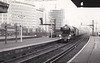 RAIL TOUR - 'SOUTHERN COUNTIES ENTERPRISE' - organised by the Southern Counties Touring Society and run on August 25th, 1963. 60112 ST SIMON is seen here at Vauxhall. The tour ran as follows:-<br /> <br /> 60112 - London Waterloo - Clapham Jn Earlsfield - Wimbledon - Surbiton - Woking - Basingstoke - Winchester City - Eastleigh - Southampton Central - Brockenhurst - Bournemouth Central - Poole - Hamworthy Jn<br /> 30052 - Hamworthy Jn - Hamworthy - Hamworthy Jn<br /> 60112 - Hamworthy Jn - Wareham - Dorchester South - Weymouth Jn<br /> 7782/4689 - Weymouth Jn - Melcombe Regis - Portland - Easton<br /> 4689/7782 - Easton - Portland - Melcombe Regis - Weymouth Jn (1) - Dorchester West - Maiden Newton - Bridport - West Bay<br /> 7782/4689 - West Bay - Bridport - Maiden Newton<br /> 60112 - Maiden Newton - Yeovil Pen Mill - Westbury - Warminster - Salisbury - Andover Jn - Basingstoke - (reverse of outward route) - London Waterloo