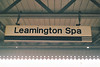 LEAMINGTON SPA - Regional Railways sign on Platform 2 at Leamington. I was there on June 4th, 1999.