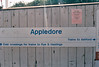 APPLEDORE - This looks like an old Network South East with the logo scrubbed off. I was there on July 29th, 1999.