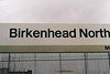 BIRKENHEAD NORTH - A Merseyrail station. This was the first time I'd ever been to Merseyside, in living memory anyway, and it felt more foreign to me than France or Belgium, January 29th, 2000.