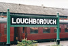 LOUGHBOROUGH - I suspect that this a new sign at the GCR station at Loughborough but very nice nevertheless - I was there on June 5th, 1999.