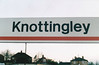 KNOTTINGLEY - A WYPTE sign I suppose. I took this early in the morning, having spent the night here in the luxurious Volvo 940 Hotel - I was there on April 18th,2000.