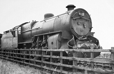 """OAKLEY - On January 21st, 1938, a train of empty stock from Bradford arrived at Oakley Junction drawn by Class 5MT 'Crab' No. 2893 with driver Cox in charge. The instructions from """"Control"""" were that the stock was to be stabled on the Way and Works siding of the Northampton branch, but as some vehicles were already standing there, the signalman J. Finnerty found that only one half of the train could be accommodated. A further movement onto the main line would therefore be necessary to enable the coaches to be shunted onto an adjoining siding. This movement had to be delayed until the clearance of an up express at 1446. In the meantime Guard Turner of the empty train had gone to the signal box to discuss the matters with Finnerty. After spending some time in conversation Turner departed to find a scotch to place against the wheels of the stabled section of his train. So far all was well, and it only remained to await the 1410 St Pancras to Bradford express which was due to pass the junction at 1500. For some reason Finnerty then decided to bring out the empty stock onto the up main line, and from that moment things began to go wrong. The movement of the train, if unwise, would have been in order if Finnerty had blocked back to signalman Neale at Bromham signal box to explain the position, but he did not do so. He then displayed a green flag to Cox permitting him to emerge from the siding, but Cox moved forward only a few yards as guard Turner was missing, and then stopped. The movement of a few yards was decisive as the engine now stood on track circuit TC 886 which had the effect of locking the points in position and also the main line signals at danger. Neale now offered the Bradford express to Finnerty who accepted it thus breaking Regulation 4(f) which ruled """"permission for a following train may be given only if the points are set for the train to pass"""". Finnerty now went to lower the main line signals but found the levers locked; he tried to reset the points but"""