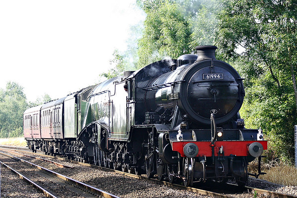 PRESERVED STEAM LOCOMOTIVES ON THE MAINLINES