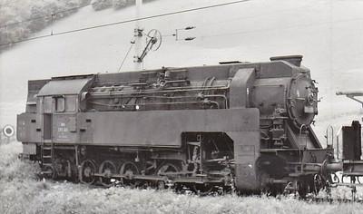 297 401 - 2-12-2 rack tank built in 1942 by Florisdorf, largest rack steam engine ever built - withdrawn 1968 - used on the Leoben - Hieflau line - now preserved at Vordernberg Markt.