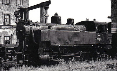 OBB - 392 2515 - 0-8-0T, same as DRG Class 92.25.