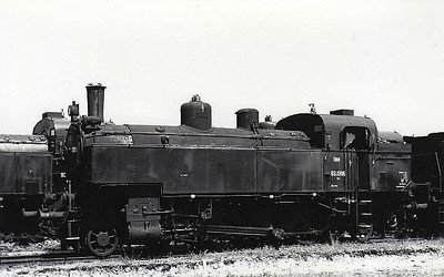 OBB - 93 1306 - 2-6-2T for branch line duties.