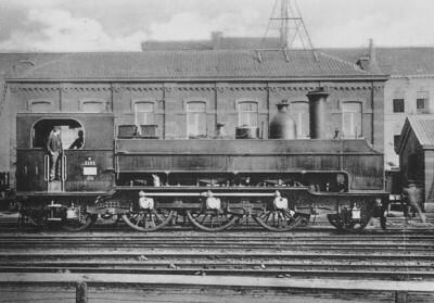 SNCB/NMBS - 1181 - Belgian State Railways Class 'Prairie' 2-6-2T - built 1879 - 80kmh.