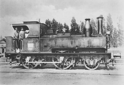 SNCB/NMBS - 1359 - Belgian State Railways Class 5 2-4-0T - built 1880 - 60kmh.
