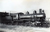 CHILE - NITRATE RAILWAYS - 91 - a lightweight 2-8-2 built in 1920 by Baldwin, one of a class of 8 for non-nitrate traffic on the railway.