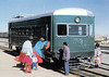 BOLIVIA - STATE RAILWAYS (ENFE) - 3 - a Bo-Bo Wickham/Leyland railcar of 1953 seen at Vischa Station near La Paz in 1981.