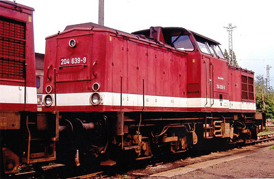 DR - 204 639 - 60 engines rebuilt from Class 201 from 1983 - last withdrawn 05/09.