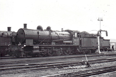 SNCF - 140C 248 - CF d'Etat 2-8-0 - built 1916 by North British Loco Co., Works No.21393 - withdrawn late 1960's/early 1970's - seen here at Batignolles in May 1963.