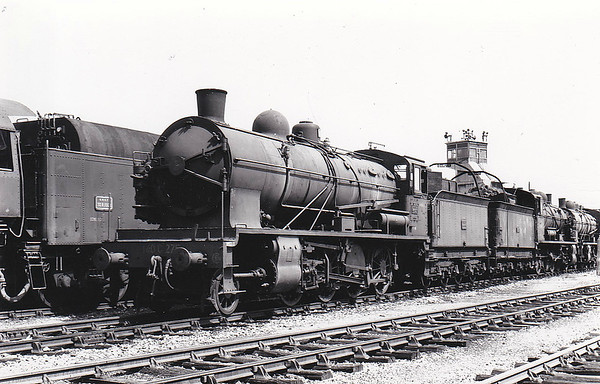 SNCF - 140C 275 - CF d'Etat 2-8-0 - built 1917 by North British Loco Co., Works No.21612 - withdrawn late 1960's/early 1970's.