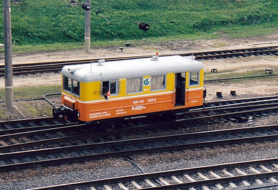 LG - AS-1A 2253 - comes rattling and rolling from the north to go into Vilnius Locomotive Works, 28/08/06.