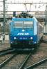 CFL - 185 522 - 5 engines, dual voltage, for local passenger/freight services, leased from ATC and returned on arrival of Class 4000 - arrives at Luxembourg on the 1710 from Rodange, 07/04/04.