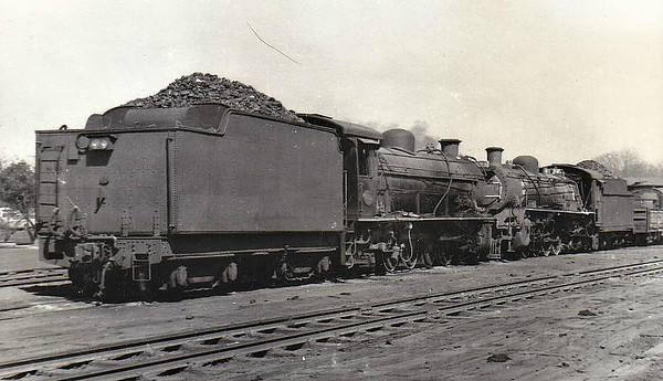 SOUTH AFRICA - SAR - 1800 - Class 15A 4-8-2, one of 6 built by North British Loco Co. in 1916, Works No.21437 - all withdrawn by early 1980's - seen here at Pietersburg in 09/73 with No.2647.