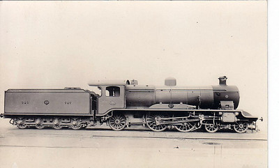 EGYPT - EGYPTIAN STATE RAILWAYS - 787, a British-built 4-4-2 express passenger locomotive. Egyptian Railways had no use for large locomotives as it ran only light trains.