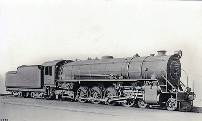 SOUTH AFRICA - SAR - Class 15F 4-8-2, built by North British between 1928 and 1948, 255 in total. Smoke deflectors were added later.