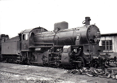TURKEY - TCDD - 34003 - 2-6-0, built 1911 by Hanomag, Works No.6107 - class of 9 engines built for CFOA, No.204 - seen here at Karabuk in 1970.