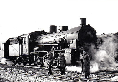 TURKEY - 44033 - 46 Prussian State Railways Class G8 0-8-0, built 1912, supplied to CFOA during WW1 - seen here at Afyon in 1970.