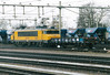 DB RAILION - 1604 - 58 engines, now renumbered as Class 1800, all paced in store by 04/11 - arrives at Roosendaal on a single wagon freight, 05/04/04.