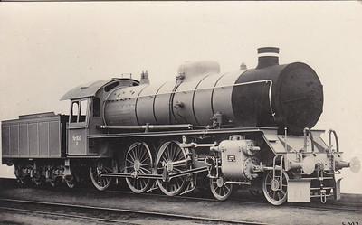 DENMARK - DSB - Class R 4-6-0 No.955.