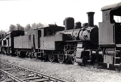 ITALY - FS - 980 002 - 0-6-0T, built 1908 - seen here on the scrapline at Roma Smistamento, 1967.