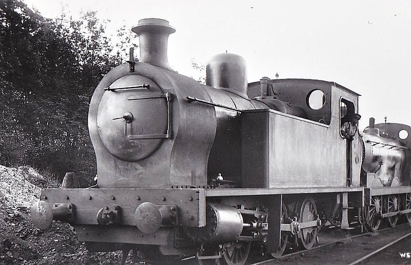 EAST KENT LIGHT RAILWAY - No.4 - Victory Class 0-6-0ST - built 1917 by Kerr Stuart & Co., Works No.3067 as No.11 for the Inland Waterways Docks Dept. of the Royal Engineers - then to ROD No. 610 -  restricted to Shepherdswell - Tilmanstone trains due to weight - 1948 to BR but BR No.30948 not applied - 02/49 withdrawn. <br /> The East Kent Light Railway was part of the Colonel Stephens group of cheaply built rural light railways in England. Holman Fred Stephens was engineer from its inception, subsequently becoming director and manager. The line ran from Shepherdswell to Wingham (Canterbury Road) Station with a branch from Eastry through Poison Cross to Richborough Port. Built primarily to serve colliery traffic, the line was built with many spurs and branches to serve the mostly unsuccessful mines of the Kent coalfield, with cancelled plans to construct several others. The success of Tilmanstone colliery allowed the main line of the railway to continue operation until 1986, when the remainder of the line became a heritage railway.