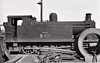 EAST KENT LIGHT RAILWAY - No.4 HECATE - Victory Class 0-6-0ST - built 1917 by Kerr Stuart & Co., Works No.3067 as No.11 for the Inland Waterways Docks Dept. of the Royal Engineers - then to ROD No. 610 -  restricted to Shepherdswell - Tilmanstone trains due to weight - 1948 to BR but BR No.30948 not applied - 02/49 withdrawn - seen here in Eastleigh Works dump, 03/50.<br /> The East Kent Light Railway was part of the Colonel Stephens group of cheaply built rural light railways in England. Holman Fred Stephens was engineer from its inception, subsequently becoming director and manager. The line ran from Shepherdswell to Wingham (Canterbury Road) Station with a branch from Eastry through Poison Cross to Richborough Port. Built primarily to serve colliery traffic, the line was built with many spurs and branches to serve the mostly unsuccessful mines of the Kent coalfield, with cancelled plans to construct several others. The success of Tilmanstone colliery allowed the main line of the railway to continue operation until 1986, when the remainder of the line became a heritage railway.