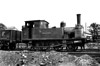 KENT & EAST SUSSEX RAILWAY - No.1 TENTERDEN - 2-4-0T built 1899 by Hawthorn Leslie & Co., new for the opening of the line - 1938 withdrawn for overhaul, 1941 scrapped.<br /> The Kent & East Sussex Railway was opened piecemeal between 1900 and 1905. It ran between Headcorn and Robertsbridge, a distance of just over 21 miles, and was one of Colonel Stephens' railways. It never ran at a profit and became part of BR in 1948. The last passenger train ran in June 1961 and the final section closed to freight in January 1970. Since then, it has been revived by a preservation group.