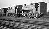 METROPOLITAN RAILWAY - A Company get-together! Class S 0-6-0ST No.102, Class A 4-4-0T No.41 and Class E 0-4-4T No.82 at Neasden MPD.